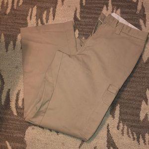 Khaki work pants